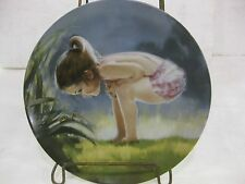 """Wonder Of Childhood Collectible Plate """"Small Wonder"""" 1985 Limited Edition #5697"""