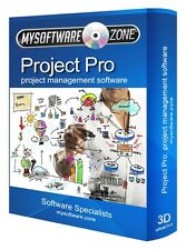 PROJECT MANAGEMENT SOFTWARE FOR MS MICROSOFT WINDOWS CD