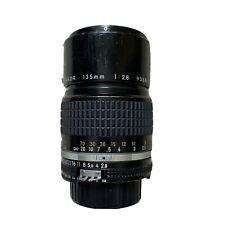 NIKON Ai Nikkor 135mm f/2.8 MF Prime Lens