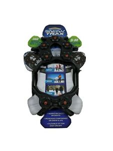 Snow Trax By Yaktrax Traction Snow Ice Shoe Size S-M Women's 5-9 Men's 3.5-7.5