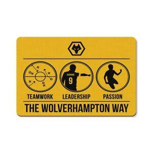 Wolverhampton Wanderers F.C - Personalised Floor Mat (WOLVES WAY)