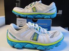 Womens Brooks PureFlow 2 3M White Blue Lime Green 7 Running Shoes 120131 1B 144