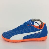Puma Evo Speed 5 Blue Synthetic Leather Trainer 10328303 Men UK 7 Eur 40.5