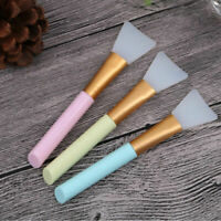 Silicone Gel Facial Face Mask Mud Mixing Brush Skin Care Beauty Makeup Tool