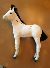 AMERICAN GIRL DOLL HORSE SPARKS FLYING KAYA'S SPOTTED PONY FOAL WHITE DAPPLED