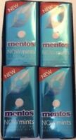 Mentos Now Mints Wintergreen Sugar Fresh Breath Fat Free Candy 3 Pack