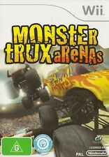 NINTENDO WII MONSTER TRUX ARENAS GAME COMPLETE AUS RELEASE