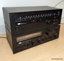 Sansui A-60 amplifier And T-60 Tuner Stereo System MADE IN JAPAN