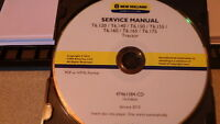 NEW HOLLAND T6.120 T6.140 T6.150 T6.155 T6.160 T6 TRACTOR SERVICE MANUAL CD CD11