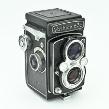 💙  Yashica 635 Twin Lens Reflex TLR 120 6x6 & 35mm Film Camera. ***Exc Value***