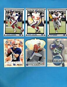 New York Giants Lot of (25) Different Inserts & Parallel Cards! Dayne! Hilliard!