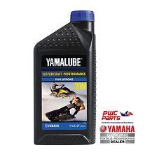 YAMALUBE 2W Watercraft 2-Stroke Engine Oil LUB-2STRK-W1-12 Quantity 1 = 1 Quart