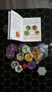 Yu-gi-oh Yugioh Hexors Collectible Battle Tile Starter Set