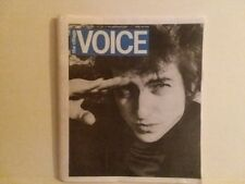 VILLAGE VOICE - LAST ISSUE EVER - BOB DYLAN COVER - FREE SHIPPING