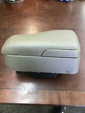 Saturn S-series Armrest Center Console 2000-2002 Tan Adjustable With Storage B20