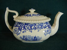 Copeland Spode Old Salem Large Tea Pot with Lid
