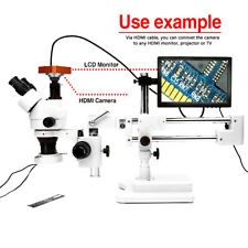 Microscope 21MP HDMI USB Industry 1080P HD Camera Digital C-mount Video Recoder