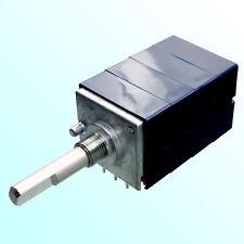 ALPS RK27114 quad Pot Potentiometer 10K logarithmic audio RK27 10KDx4 4-gang