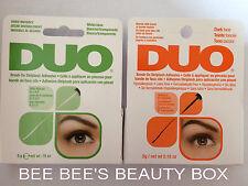 Clear DUO False Eyelashes & Adhesives