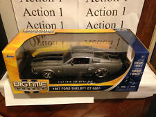 1967 Ford Shelby Mustang GT 500 1:18 scale Factory Sealed Big Time Muscle Jada