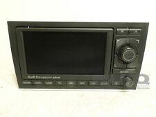 2005-2009 Audi A4 S4 AM FM CD Player Radio & GPS Navigation Screen OEM
