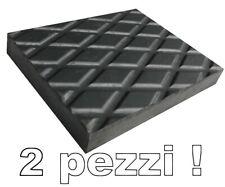 Tamponi in gomma H 20 mm per ponti sollevatori ruote 4 pezzi @ MADE IN ITALY