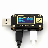 POWER-Z USB PD QC3.0 QC2.0 Tester Voltage Current Meter Power Bank Detector
