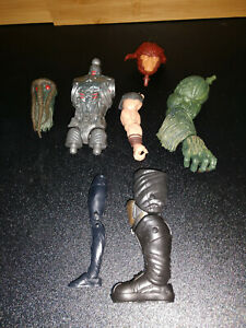 Marvel Legends BAF Parts Lot - Sasquatch, Man-Thing, Okoye, Thanos, Allfather