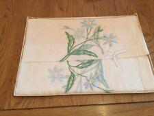 """Retro 50s tablecloth 42"""" square Rayon"""