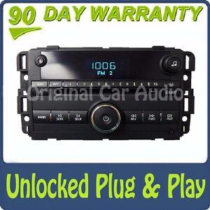 UNLOCKED Chevy Impala Radio CD Disc Player Changer AUX MP3 Input Chevrolet