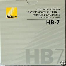 Nikon HB-7 Bayonet hood for AF 80-200mm F2.8D ED Genuine