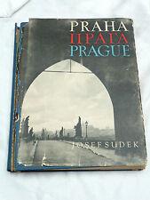 Rare JOSEF SUDEK Praha PRAGUE Vitezslav Nezval PHOTOGRAPHY 1948