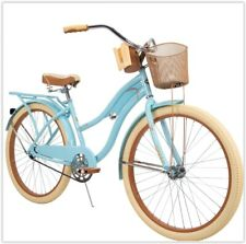 """Huffy 26"""" Women's Comfort Beach Cruiser Bike Multiple Colors Perfect Fit Frame"""