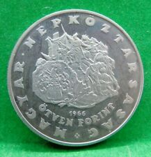 More details for hungary 50 forint silver coin 1966, near mint