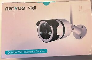 Netvue Vigil 1080p Wireless Outdoor Bullet Security Camera with Night Vision