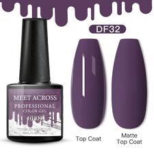 Meet Across Christmas Uv Gel Nail Polish Soak Off Manicure Purple Gel 32 6ml