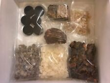 6 1oz Resin Incense Sampler - Frankincense, Myrrh, Benzoin, Copal, Dragon Blood