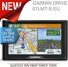 "NEW Garmin 010-01679-12 6"" Drive 61LMT-S EU Car Navigator GPS SAT NAV 1Yr WNTY"