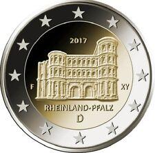2 Euro Germania 2017 Rheinland Pfalz Porta nigra TREVIRI MZ. a (Berlino)
