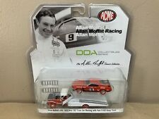 ACME GREENLIGHT 51139 FORD RAMP TRUCK MUSTANG #9 COCA COLA ALLAN RED WHEELS HW1