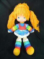 "Vintage Hallmark Cards Rainbow Brite Doll 18"" Soft Body Vinyl Head 1983 - SWEET!"