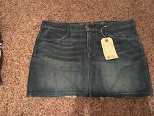 Earnest Sewn Womens Denim Skirt Size 32 New With Tag