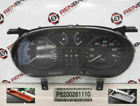 Renault Clio MK2 2001-2006 Instrument Panel Dials Gauges Speedo 91K  8200261110