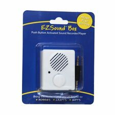 Ezsound Box - Front Play Button for Personal Messages, Favorite Tunes, Stuffed