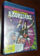*New & Sealed* Bill & Ted's Excellent Adventure Blu Ray Reg B AUS - hard to find