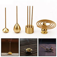 Buddhism Gadgets Ash Catcher Joss-stick inserted Incense Holder Copper Censer