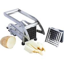 Stainless Steel French Fry Cutter Potato Vegetable Slicer Chopper Dicer