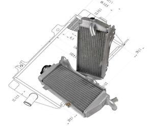 KSX zubehör Kühler HONDA CRF450 2013-2014 Set Wasserkühler Radiator