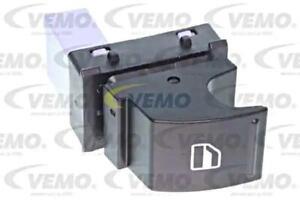 Window Regulator Switch Left Rear Right Black VEMO Fits VW SEAT 1F09598553X1