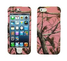 Pink Camo Snap On Cover Case for Apple iPhone 5 5G
